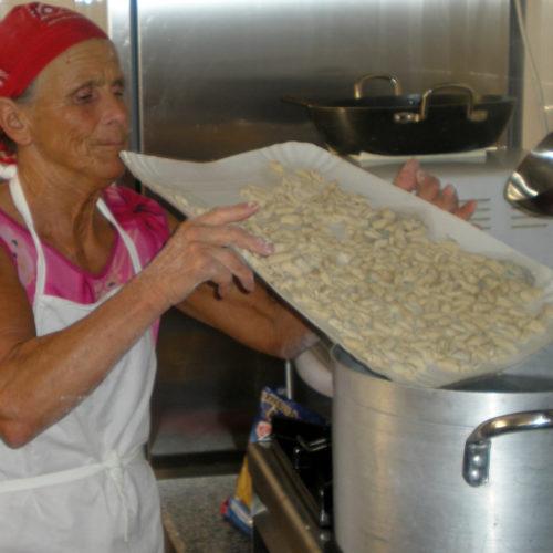 pasta fatta in casa cucina tipica hotel palinuro village tabu